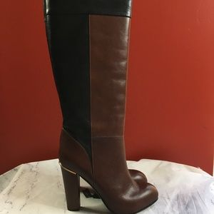 Made in Italy Real Leather 2 Tone NWT Boots